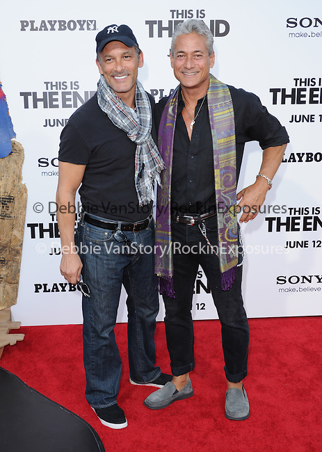 Greg Louganis at Columbia Pictures' World Premiere of This is the End Premiere held at The Regency Village Theatre in Westwood, California on June 03,2013                                                                   Copyright 2013 Hollywood Press Agency