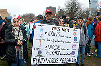 March for Science Boston MA 4.22.17, one of 600 demonstrations on 6 continents on Earth Day 2017