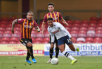 Preston North End's André Green in action<br /> <br /> Photographer Dave Howarth/CameraSport<br /> <br /> The Carabao Cup First Round - Bradford City v Preston North End - Tuesday 13th August 2019 - Valley Parade - Bradford<br />  <br /> World Copyright © 2019 CameraSport. All rights reserved. 43 Linden Ave. Countesthorpe. Leicester. England. LE8 5PG - Tel: +44 (0) 116 277 4147 - admin@camerasport.com - www.camerasport.com