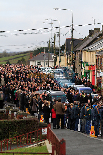 Funeral of Minister of State Shane McEntee which took place today in Nobber, Co.Meath...Photo NEWSFILE/Jenny Matthews..(Photo credit should read Jenny Matthews/NEWSFILE)