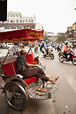 VIETNAM, Hanoi, a bustling street scene on a hot afternoon in the old quarter of Hanoi