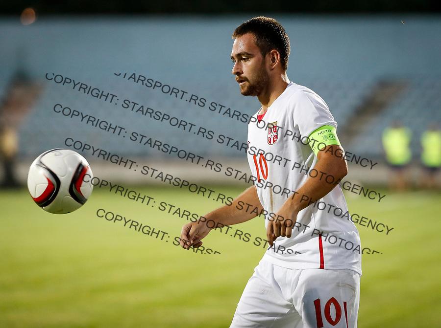 Fudbal Soccer<br /> Reprezentacija Srbije U21<br /> Kvalifikacije za U21 EURO 2019<br /> Srbija U21 v Gibraltar U21<br /> Andrija Zivkovic<br /> Jagodina, 09.01.2017.<br /> foto: Srdjan Stevanovic/Starsportphoto &copy;