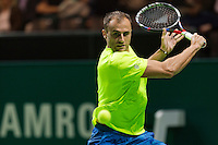 ABN AMRO World Tennis Tournament, Rotterdam, The Netherlands, 13 februari, 2017, Marius Copil (ROU)<br /> Photo: Henk Koster