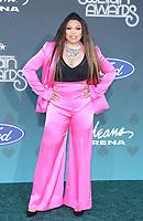 17 November 2019 - Las Vegas, NV - Tisha Campbell. 2019 Soul Train Awards Red Carpet Arrivals at Orleans Arena. Photo Credit: MJT/AdMedia