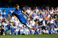 Chelsea's Cesc Fabregas in action    <br /> <br /> <br /> Photographer Craig Mercer/CameraSport<br /> <br /> The Premier League - Chelsea v Everton - Sunday 27th August 2017 - Stamford Bridge - London<br /> <br /> World Copyright &copy; 2017 CameraSport. All rights reserved. 43 Linden Ave. Countesthorpe. Leicester. England. LE8 5PG - Tel: +44 (0) 116 277 4147 - admin@camerasport.com - www.camerasport.com