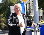 04.09.2019, Sportpark, Berlin, GER, 1.FBL, DFL,, Hertha BSC Training,<br /> DFL, regulations prohibit any use of photographs as image sequences and/or quasi-video<br /> im Bild Uli Wegner (Boxtrainer)<br /> <br />       <br /> Foto © nordphoto / Engler