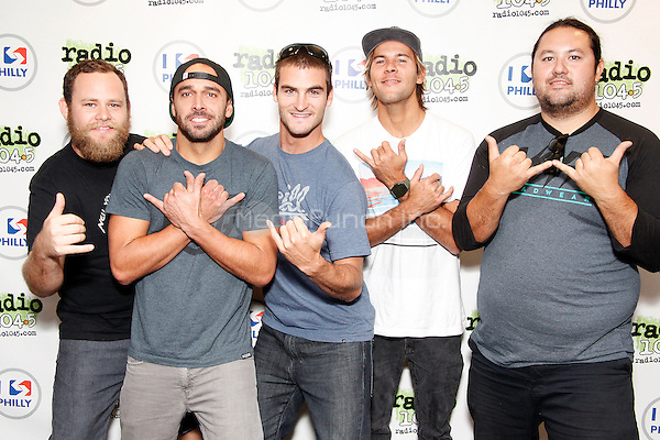 BALA CYNWYD, PA - AUGUST 23 : Iration visit Radio 104.5 performance theater on August 23, 2013  © Star Shooter / MediaPunch Inc
