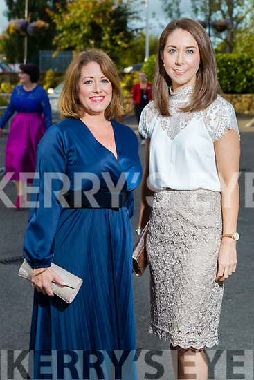 Ann and Ciara Looney (Tralee) at the Rose of Tralee fashion show at the dome on Sunday night.
