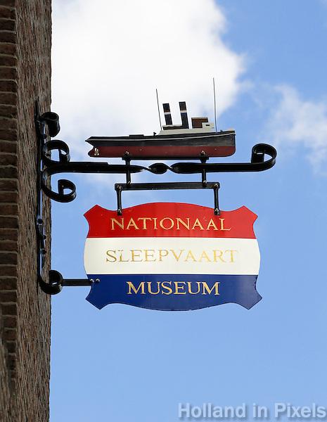Nederland Maassluis.  2016 08 05.  Nationaal Sleepvaart Museum.  Foto Berlinda van Dam / Hollandse Hoogte