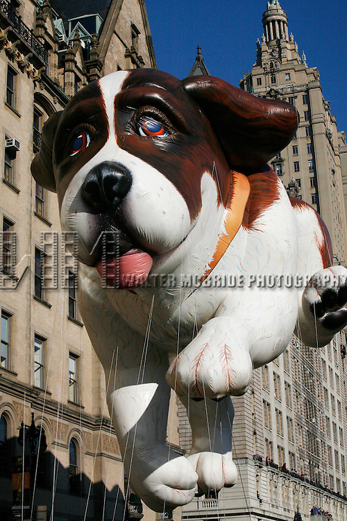 Beethoven Balloon.attending the Macy*s 82nd Thanksgiving Day Parade in New York City..November 27, 2008.© Walter McBride / Retna Ltd.