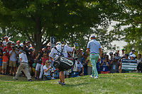 Justin Thomas (USA) heads for the tee on 10 during 4th round of the 100th PGA Championship at Bellerive Country Club, St. Louis, Missouri. 8/12/2018.<br /> Picture: Golffile | Ken Murray<br /> <br /> All photo usage must carry mandatory copyright credit (&copy; Golffile | Ken Murray)