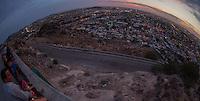 Vista panoramica de Hermosillo. Ojo de Pez