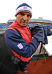 9 December 2007: Buffalo Bills team photographer Craig Melvin looks out from the sidelines during a game against the Miami Dolphins at Ralph Wilson Stadium in Orchard Park, NY. The Bills defeated the Dolphins 38-17. ..Mandatory Photo Credit: Ed Wolfstein Photo
