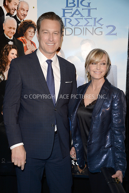 WWW.ACEPIXS.COM<br /> March 15, 2016 New York City<br /> <br /> John Corbett and Bo Derek attending the 'My Big Fat Greek Wedding 2' New York premiere at AMC Loews Lincoln Square 13 theater on March 15, 2016 in New York City.<br /> <br /> <br /> <br /> Credit: Kristin Callahan/ACE Pictures<br /> Tel: (646) 769 0430<br /> e-mail: info@acepixs.com<br /> web: http://www.acepixs.com