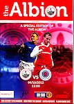 The Stirling Albion v Rangers programme for 6th October 2012