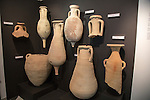 Roman amphora wine clay jars archaeology museum, Jerez de la Frontera, Cadiz Province, Spain