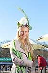 Annmarie O'Leary from Tralee at the Hennessy Gold Cup Ladies Day at Leopardstown Racecourse, Dublin on Saturday.