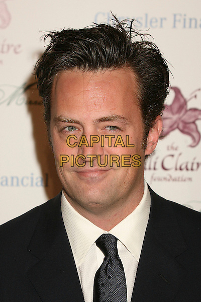 MATTHEW PERRY.9th Annual Benefit for Lili Claire Foundation at the Beverly Hilton Hotel, Beverly Hills, California, USA..October 14th, 2006.Ref: ADM/BP.headshot portrait.www.capitalpictures.com.sales@capitalpictures.com.©Byron Purvis/AdMedia/Capital Pictures.