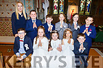Killocrim NS students received their First Holy Communion in St Michaels Church Listowel on Saturday.