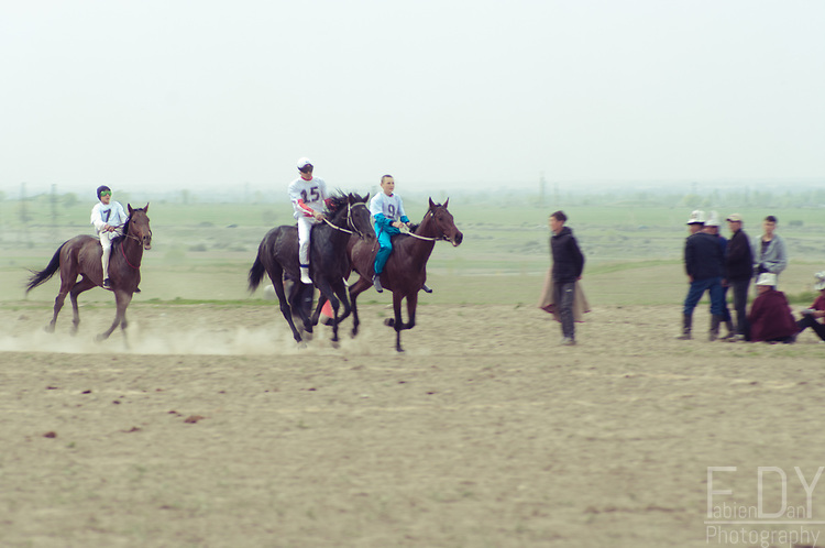 """Horse races known as """"Al-Chabysh"""" are one of the ancient Kyrgyz equestrian sports. Riders compete from age as young as 10 for the children categories and cover distances that can go up to 22 km."""