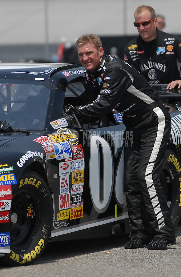 Jun 1, 2007; Dover, DE, USA; Nascar Nextel Cup Series driver Clint Bowyer (07) during practice for the Autism Speaks 400 at Dover International Speedway. Mandatory Credit: Mark J. Rebilas-US PRESSWIRE Copyright © 2007 Mark J. Rebilas..