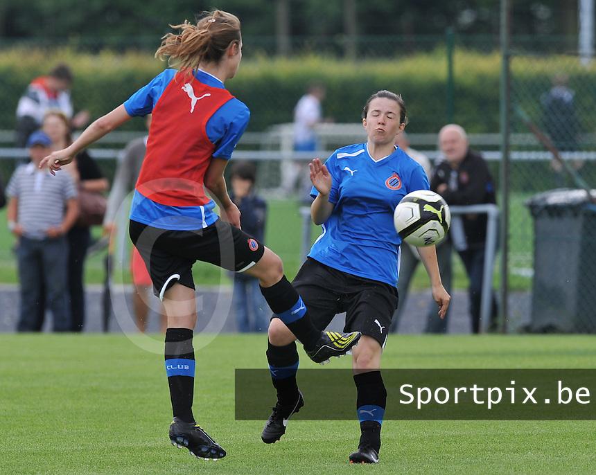 eerste training Club Brugge Dames : Astrid Braeckevelt.foto DAVID CATRY / Vrouwenteam.be