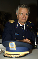Montreal (QC) CANADA May 14 1987 File Photo -<br /> Roland Bourget, chief of<br /> Montreal Police<br /> <br /> <br /> photo : (c)  Images Distribution