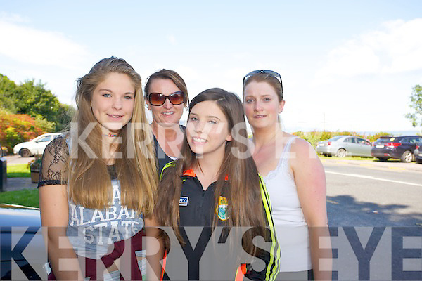 Rebecca Crean, Andrea Quirke, Shirley Roberts O'Brien, Bridget Moynihan enjoying the Camp  Annual 4 mile walk in aid of Cystic Fibrosis is on Bank Holiday Monday starting at The Junction Bar