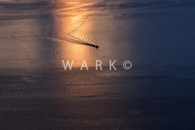 Boat on Lake Pueblo. July 2014. 86189