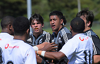 Action from the rugby match between New Zealand Maori Under-18 and Fiji Schools at Jerry Collins Stadium in Porirua, Wellington, New Zealand on Friday, 5 October 2018. Photo: Dave Lintott / lintottphoto.co.nz