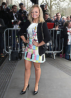 Emma Bunton arriving for the TRIC Awards 2014, at Grosvenor House Hotel, London. 11/03/2014 Picture by: Alexandra Glen / Featureflash