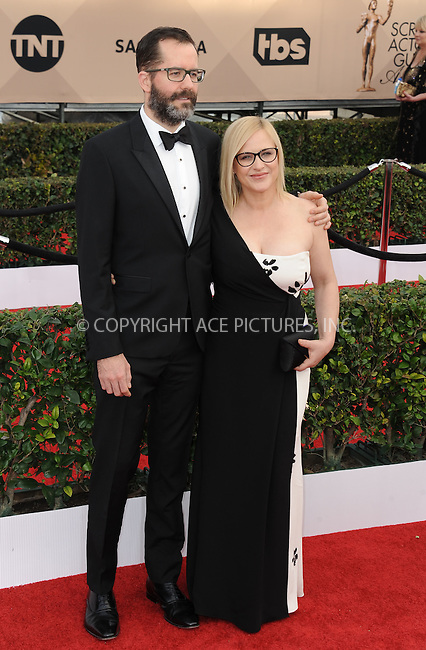 WWW.ACEPIXS.COM<br /> <br /> January 30 2016, LA<br /> <br /> Patricia Arquette arriving at the 22nd Annual Screen Actors Guild Awards at the Shrine Auditorium on January 30, 2016 in Los Angeles, California<br /> <br /> By Line: Peter West/ACE Pictures<br /> <br /> <br /> ACE Pictures, Inc.<br /> tel: 646 769 0430<br /> Email: info@acepixs.com<br /> www.acepixs.com