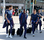 22.06.2019 Rangers arrive in Portugal: Connor Goldson, Glen Kamara, James Tavernier and Wes Foderingham