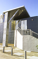 Frank Gehry: ICS/ERF Complex--Administration Building, Stairs.