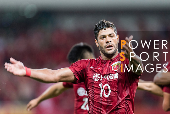 Shanghai FC Forward Givanildo Vieira De Sousa (Hulk) gestures during the AFC Champions League 2017 Round of 16 match between Shanghai SIPG FC (CHN) vs Jiangsu FC (CHN) at the Shanghai Stadium on 24 May 2017 in Shanghai, China. Photo by Marcio Rodrigo Machado / Power Sport Images