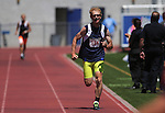 Shawn Stainbrook, of Carson City, runs the 1500 meter race at the Special Olympics Nevada 2013 Summer Games in Reno, Nev., on Saturday, June 1, 2013. <br /> Photo by Cathleen Allison