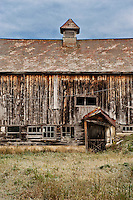 Run down barn, Vermont, USA