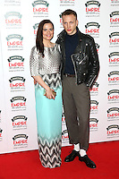Hayley Atwell, Evan Jones at The Jameson Empire Film Awards 2014 - Arrivals, London. 30/03/2014 Picture by: Henry Harris / Featureflash