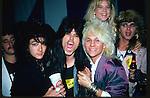 Ron Cordy, Nadir D'Priest, C C Deville, Rikki Rockett,