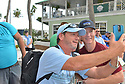 DELRAY BEACH, FL - NOVEMBER 23: Shawn Hatosy signs autographs during the 30TH Annual Chris Evert Pro-Celebrity Tennis Classic - Day 2 at the Delray Beach Tennis Center on November 23, 2019 in Delray Beach, Florida.  ( Photo by Johnny Louis / jlnphotography.com )