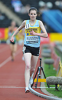 Photo: Tony Oudot/Richard Lane Photography..Aviva London Grand Prix. 25/07/2009. .women's 3000m Under 20. .Jessica Russon.