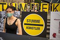 2020/06/18 Kultur   Kuenstler   Protest   Coronahilfen