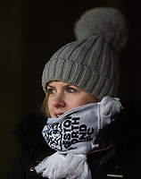 Preston supporter wrapped up from the cold watching the pre-match warm-up <br /> <br /> Photographer Jonathan Hobley/CameraSport<br /> <br /> The EFL Sky Bet Championship - Brentford v Preston North End - Saturday 10th February 2018 - Griffin Park - Brentford<br /> <br /> World Copyright &copy; 2018 CameraSport. All rights reserved. 43 Linden Ave. Countesthorpe. Leicester. England. LE8 5PG - Tel: +44 (0) 116 277 4147 - admin@camerasport.com - www.camerasport.com