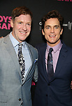 Brian Hutchison and Matt Bomer attends the 'The Boys In The Band' 50th Anniversary Celebration at The Second Floor NYC on May 30, 2018 in New York City.