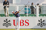 Soomin Lee of Korea tees off the first hole during the 58th UBS Hong Kong Open as part of the European Tour on 08 December 2016, at the Hong Kong Golf Club, Fanling, Hong Kong, China. Photo by Marcio Rodrigo Machado / Power Sport Images