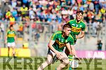 Eddie Horan Kerry in action against  Derry in the All-Ireland Minor Footballl Final in Croke Park on Sunday.