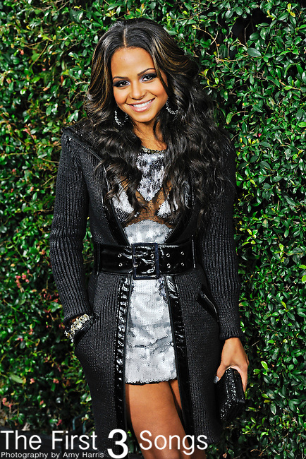 Christina Milian attends the 2010 American Music Awards VIP After Party hosted by Rolling Stone Magazine at the Rolling Stone Restaurant & Lounge in Los Angeles, California.
