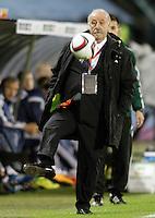Spain's coach Vicente del Bosque during international friendly match.November 18,2014. (ALTERPHOTOS/Acero) /NortePhoto<br /> NortePhoto.com