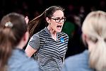 CLAYTON, MO - APRIL 14: Emily Rigney #8 of Vanderbilt University reacts after throwing against McKendree University during the Division I Women's Bowling Championship held at Tropicana Lanes on April 14, 2018 in Clayton, Missouri. Vanderbilt University defeated McKendree University 4-3. (Photo by Tim Nwachukwu/NCAA Photos via Getty Images)