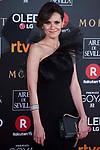 Elena Ballesteros attends red carpet of Goya Cinema Awards 2018 at Madrid Marriott Auditorium in Madrid , Spain. February 03, 2018. (ALTERPHOTOS/Borja B.Hojas)